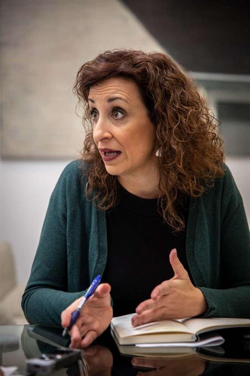 La concejala de Acción Cultural, Maite Ibáñez. EFE/Biel Aliño/Archivo