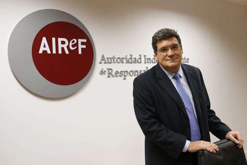 El presidente de la Autoridad Independiente de Responsabilidad Fiscal (AIReF), José Luis Escrivá. EFE/Archivo