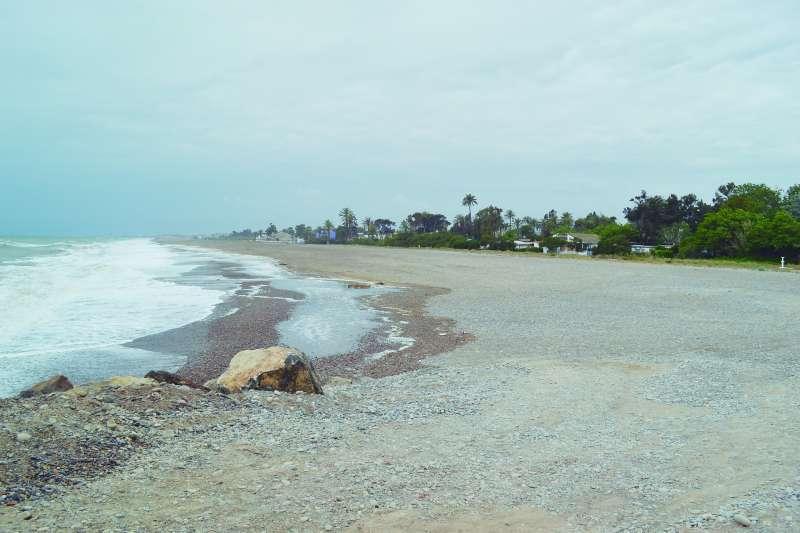 Playa de Almardà. EPDA