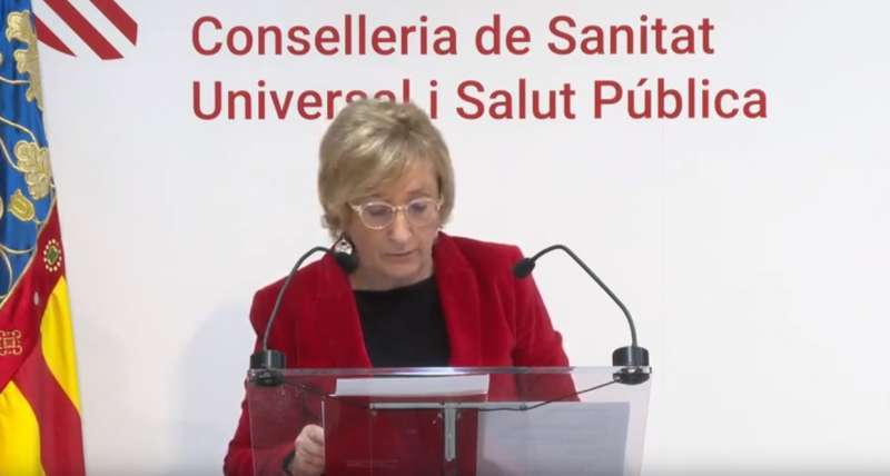 La consellera de Sanidad, Ana Barceló. EPDA