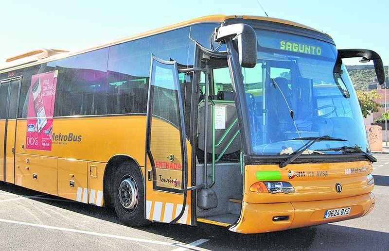 Bus en Sagunt. EPDA