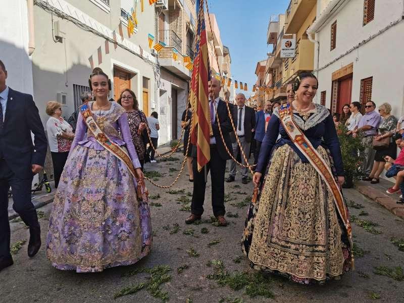 Instante de la procesión. / EPDA
