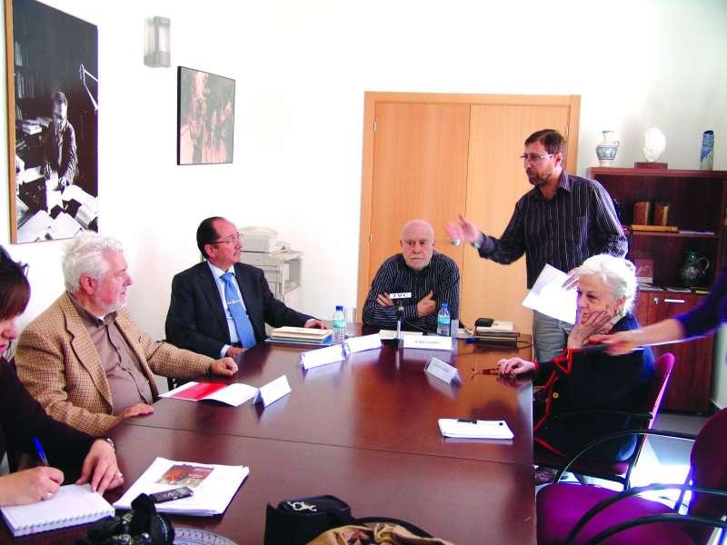 Reunión del Patronato de la Fundación (foto archivo)