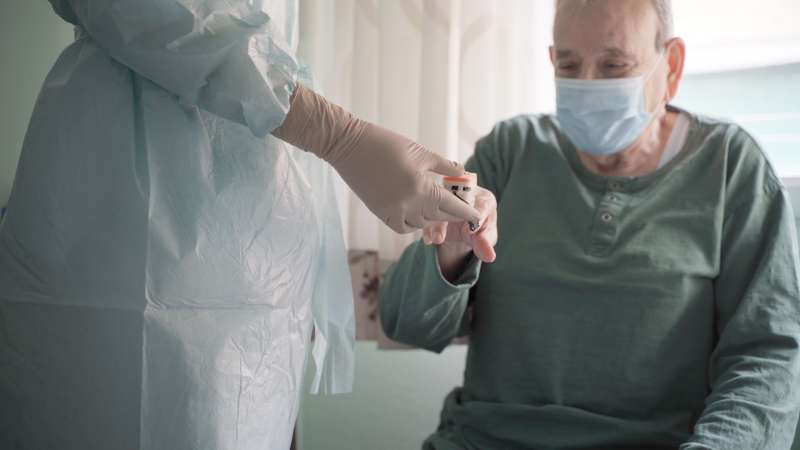 Prueba diagnóstica a un paciente de Ribera Salud