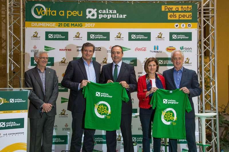 La volta a peu val ncia caixa popular ha presentat la seua for Oficinas de caixa popular en valencia