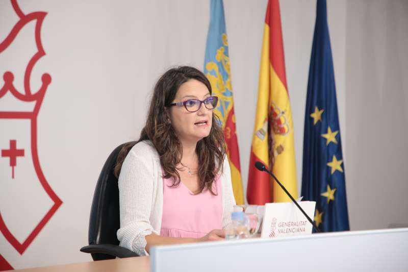 Vicepresidenta y portavoz del Consell, Mónica Oltra. EPDA