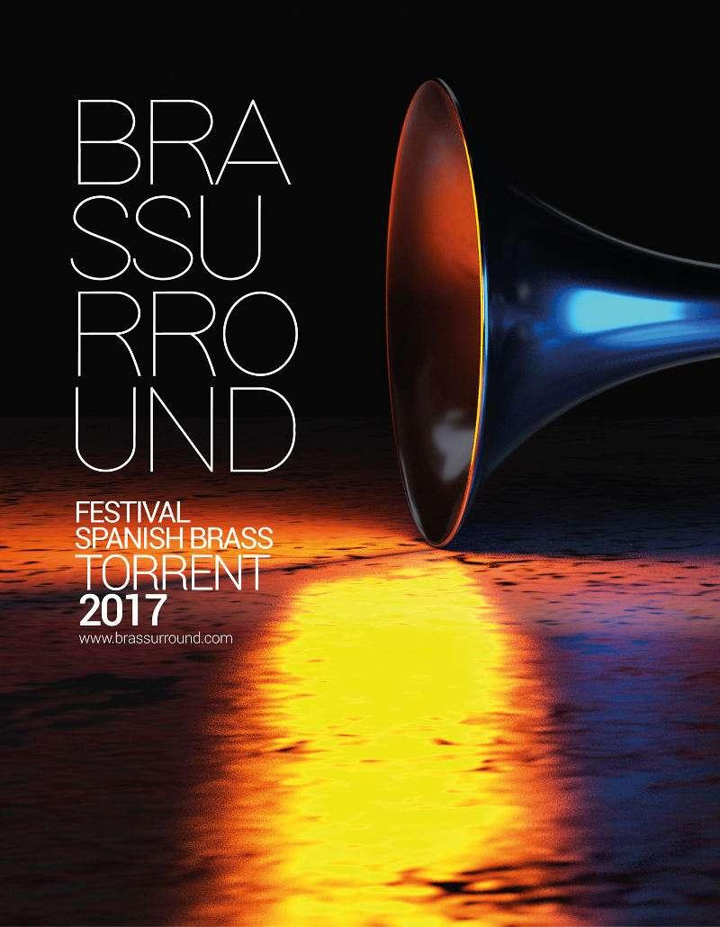 Cartel del festival Brassurround Torrent 2017. EPDA