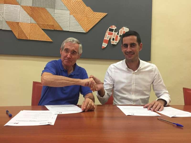Firma del convenio marco entre la Mancomunitat y la Fundació Horta Sud. EPDA