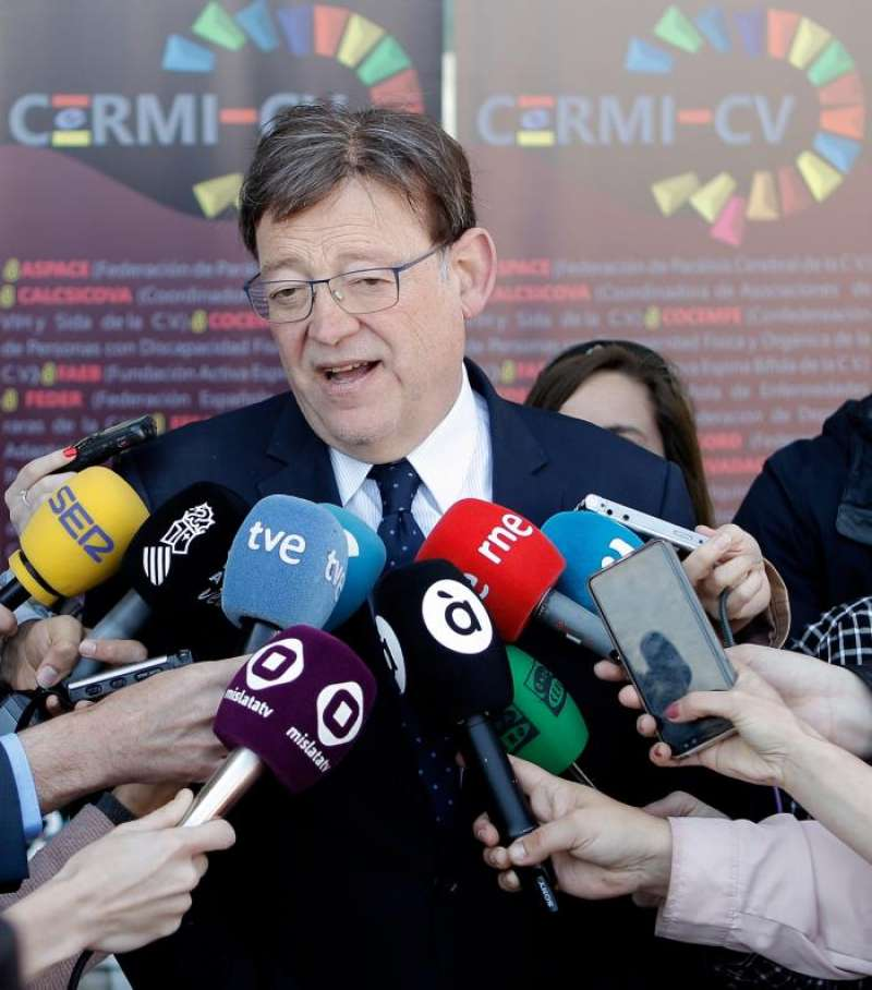 En la imagen, el president de la Generalitat, XimoPuig. EFE