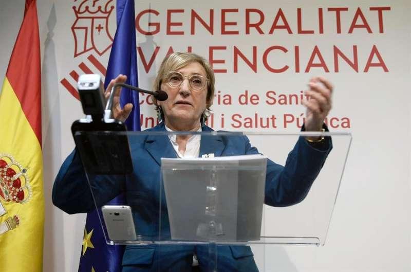 Consellera de Sanidad, Ana Barceló. EPDA