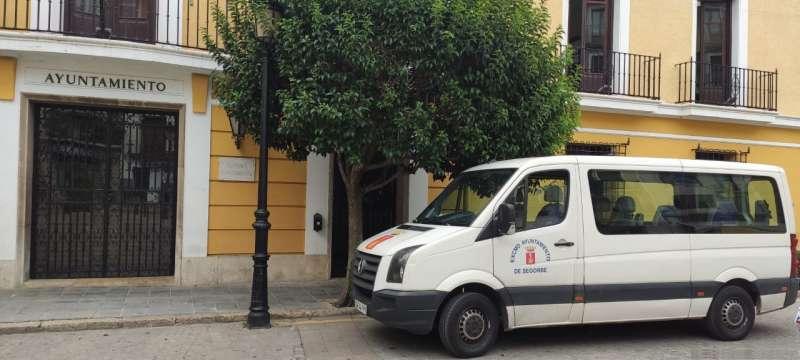 Vehículo municipal para el reparto