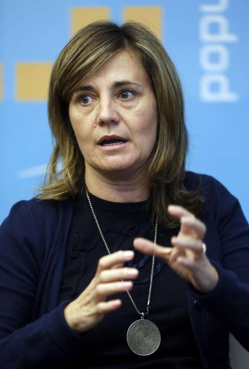 La portavoz adjunta del PP y vicesecretaria de Política Social del Partido Popular, Elena Bastidas.