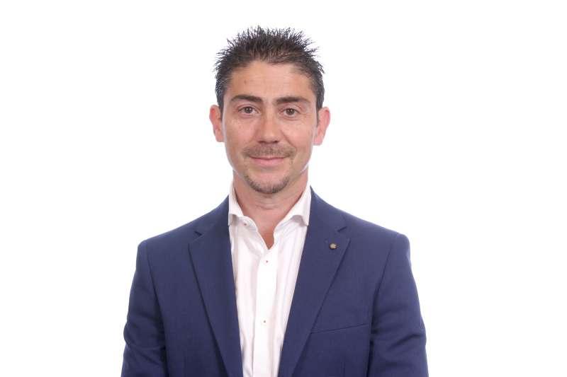 Jesús Gimeno, diputado provincial de Ciudadanos.- EPDA