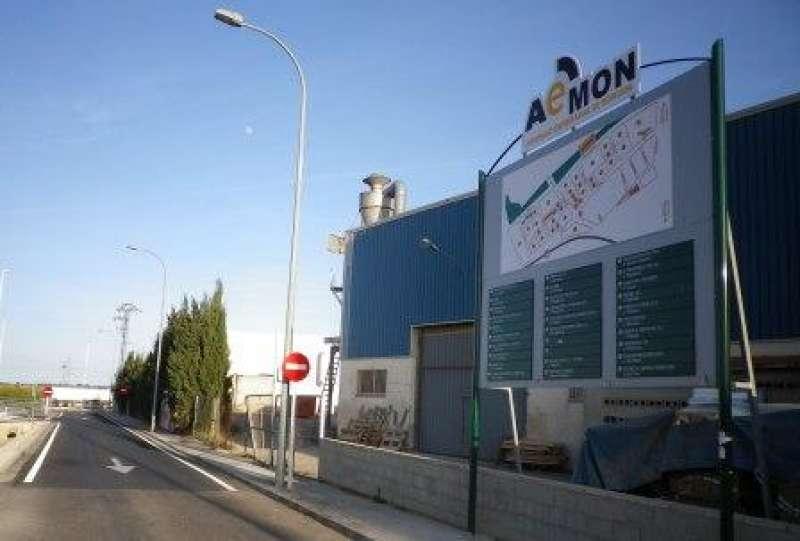 Uno de los polígonos industriales de Moncada.EPDA