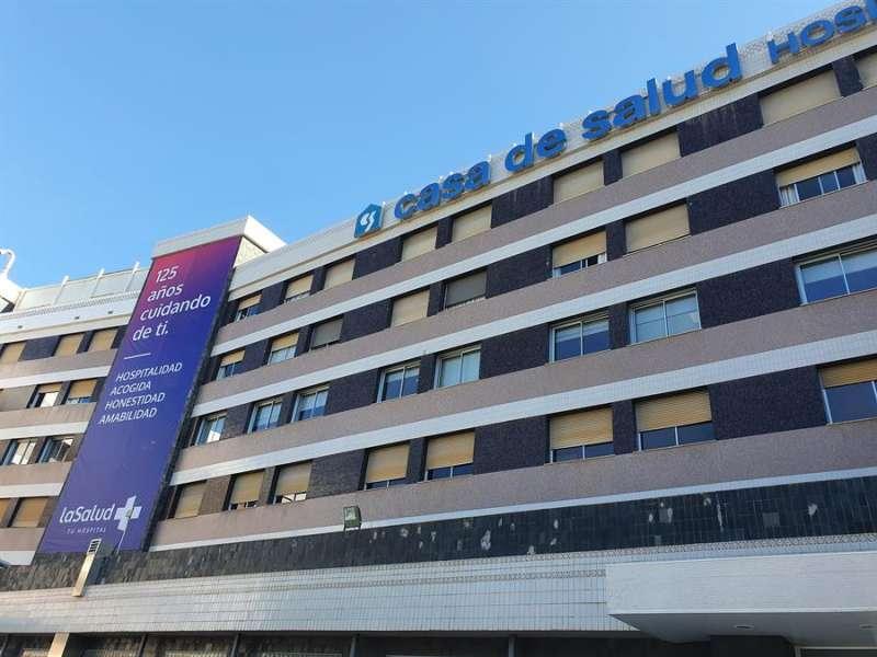 Fachada del Hospital Casa de Salud, facilitada por la entidad. EFE
