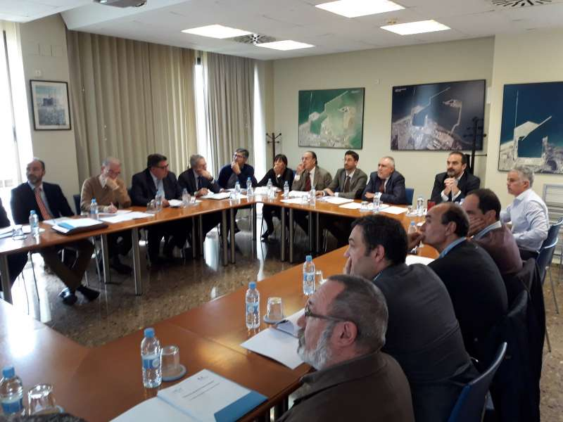 Sesión del Consejo de Calidad del puerto de Sagunto. EPDA