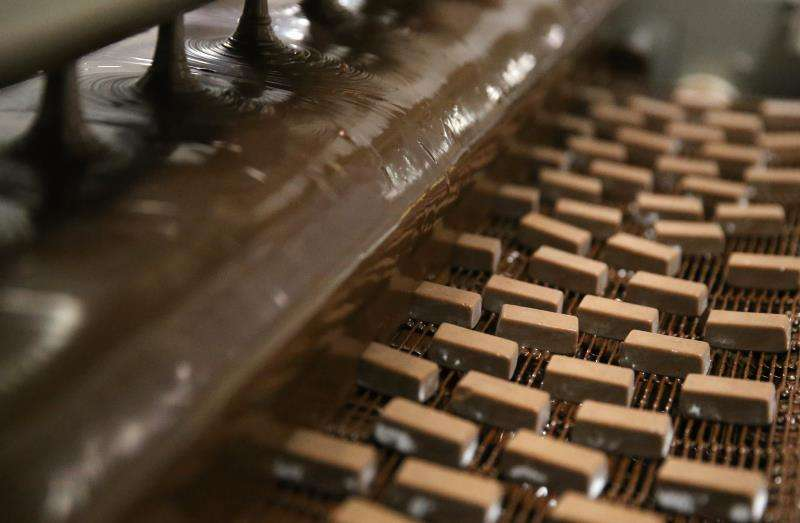 Fábrica de chocolate. EFE/Archivo
