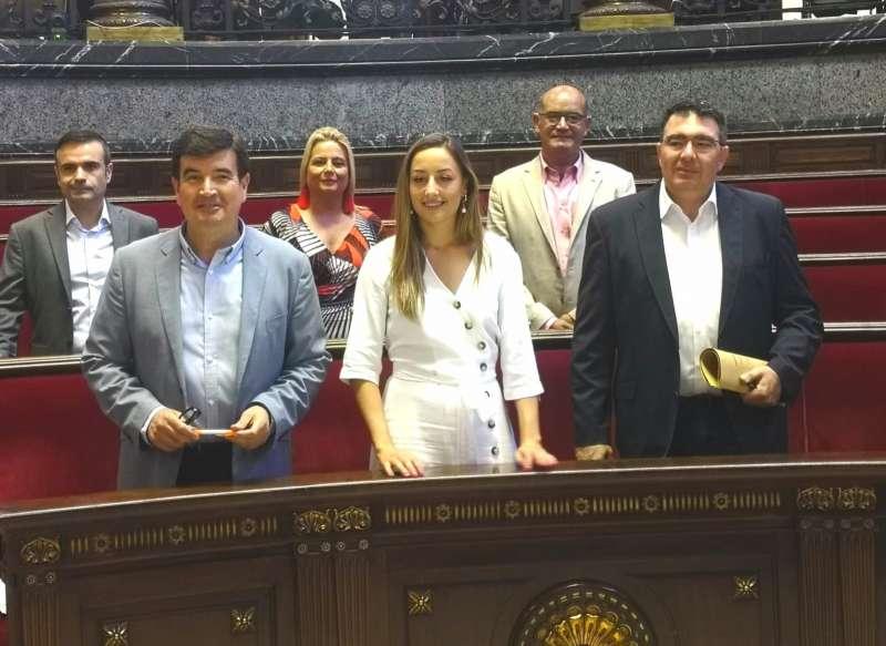 Equipo de Ciudadanos en el Ayuntamiento de València. EPDA