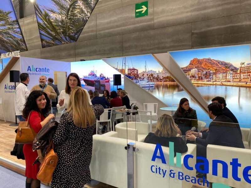Stand de Alicante en Fitur 2020. EPDA