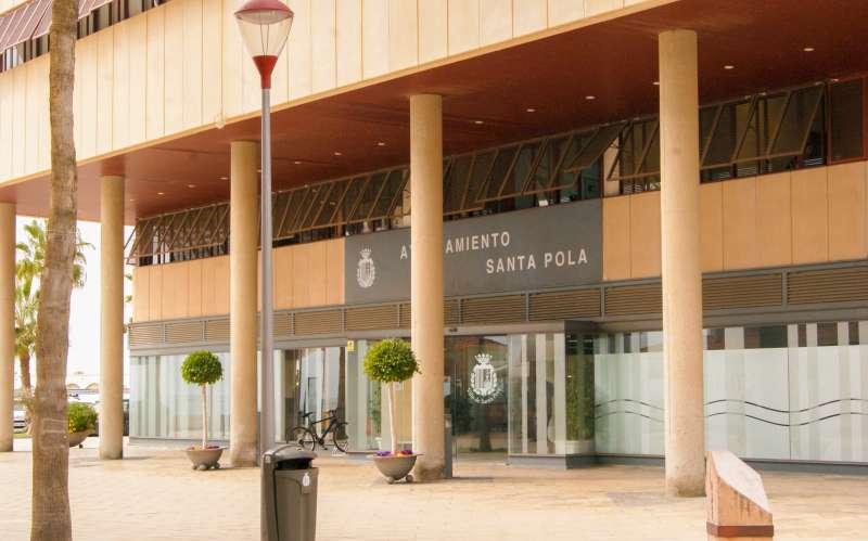 Ayuntamiento Santa Pola./EPDA