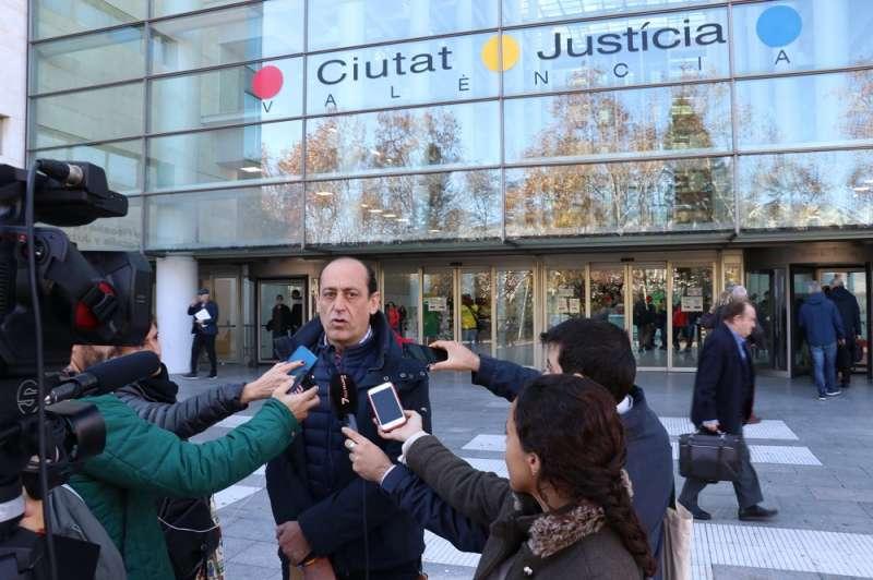 El concejal de VOX en el Ayuntamiento de València, Vicente Montañez. EPDA