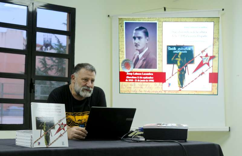 Nel.lo Navarro durante la presentación