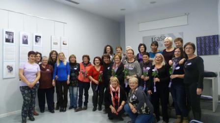 Encuentro entre asociaciones de mujeres celebrado en Xirivella. EPDA