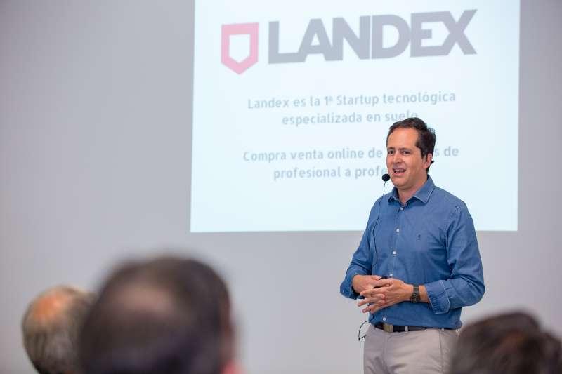 Augusto López, CEO de Landex.