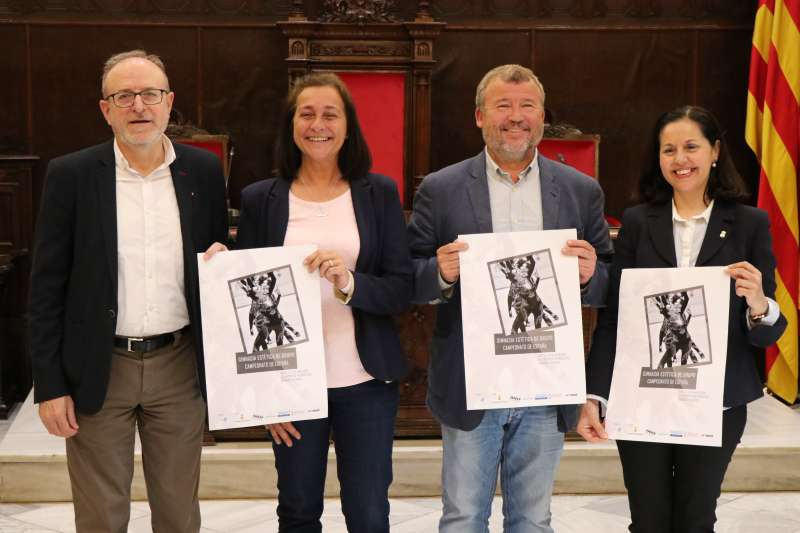 Presentación del Campeonato de España de Gimnasia Estética de Grupo