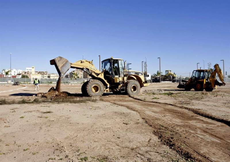 Obras de construcción. EPDA