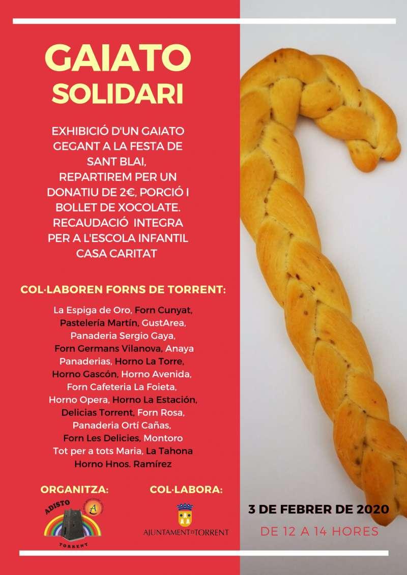 Cartel Gaiato. EPDA