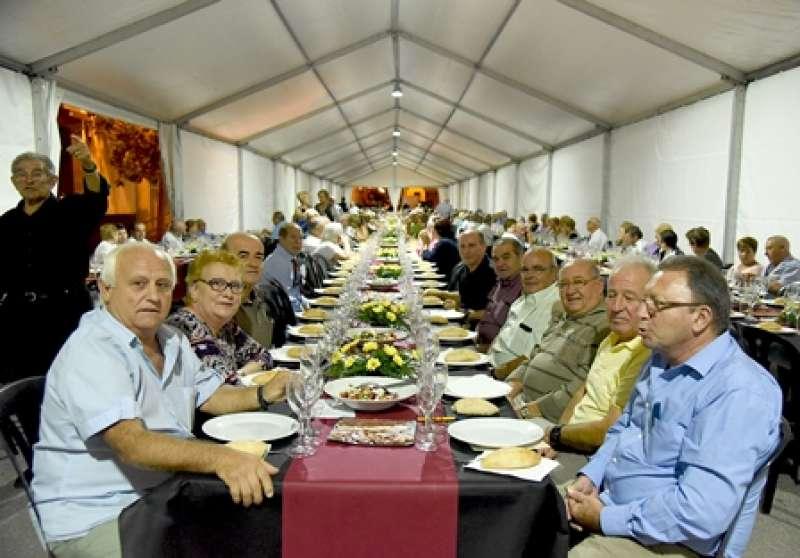 Sopar dels majors a Museros. EPDA