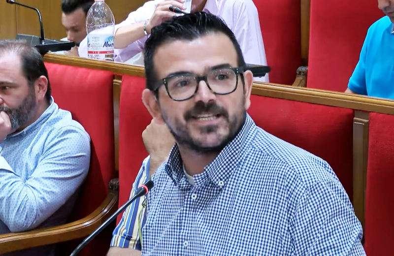 el portavoz del Partido Popular en Mislata, Jaime Bronchud. EPDA