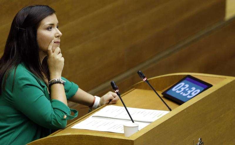 La portavoz del grupo parlamentario Ciudadanos, Marí Carmen Sánchez. EFE/Archivo