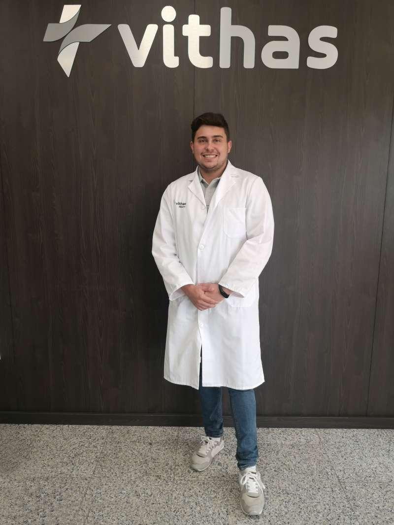 El psicólogo de Vithas Aguas Vivas, Rafael Salom.