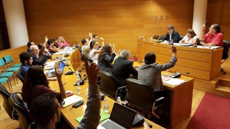 Momento de la votación