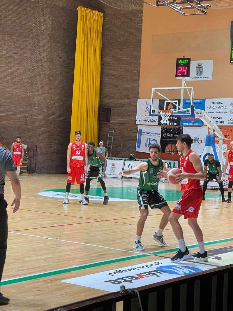 Partido de basquet