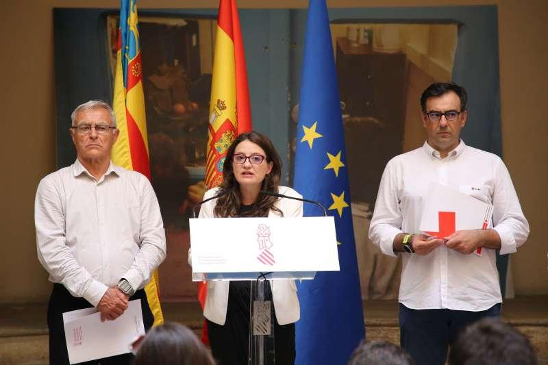Alcalde de València, Vicepresidenta del Consell y Cruz Roja.