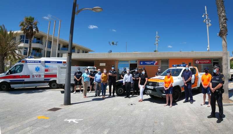 Acto oficial de apertura de la temporada de playas en Alboraya. EPDA