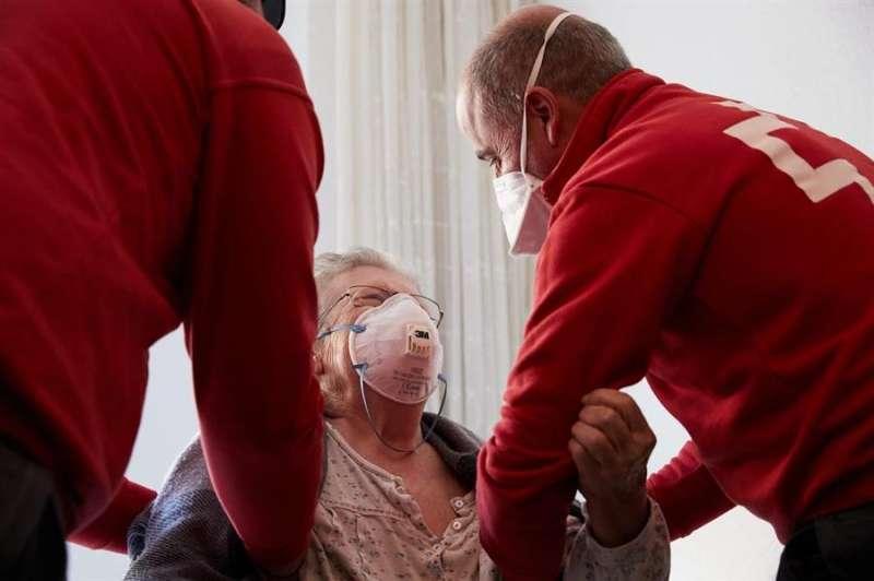 Acción de Cruz Roja, en una imagen de la organización humanitaria.