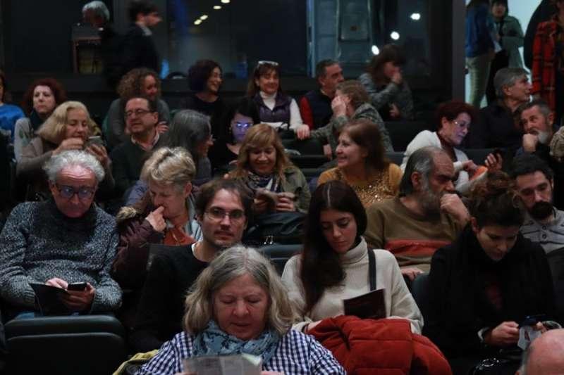 Imagen del público de uno de los actos del Festival.EFE/Humans Fest