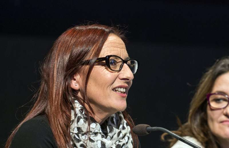 Maria Josep Amigó, vicepresidenta de la Diputació de València.