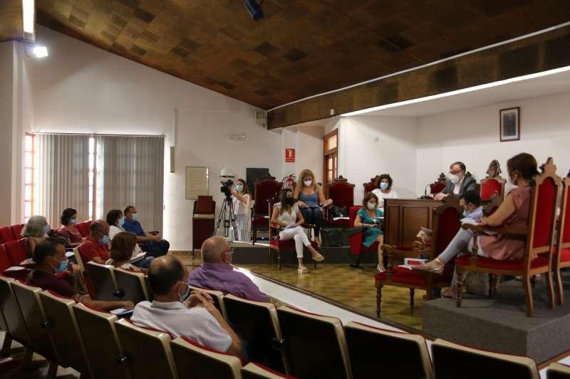 Sesión plenaria del ayuntamiento