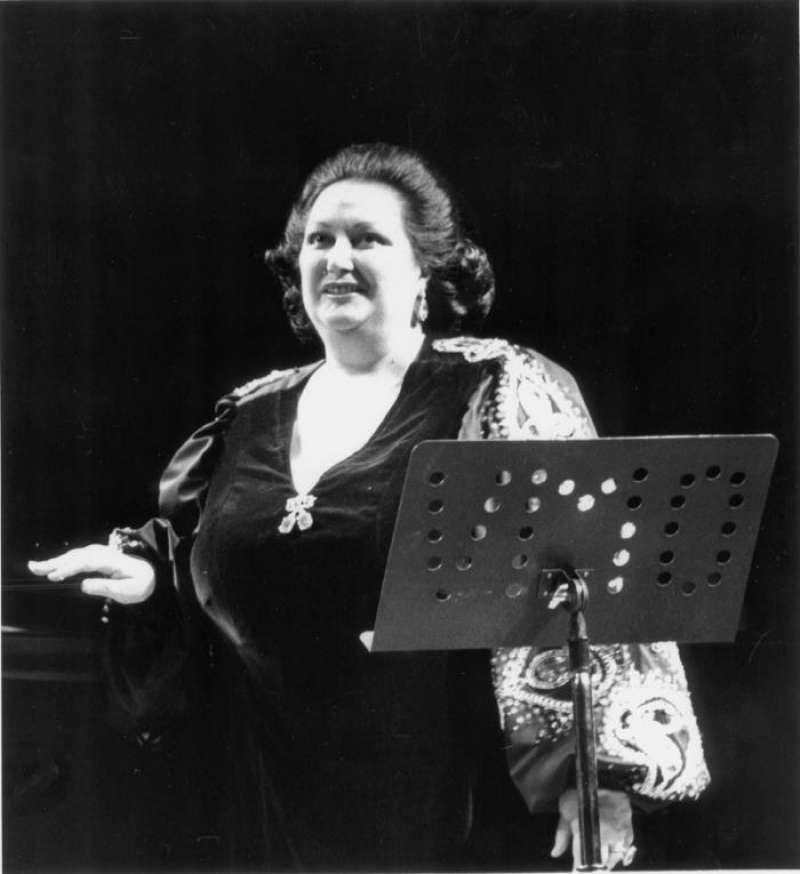 La soprano Montserrat Caballé. EFE