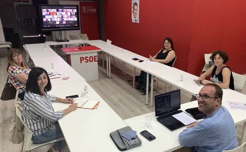 Ejecutiva PSPV-PSOE Castellón./PDA