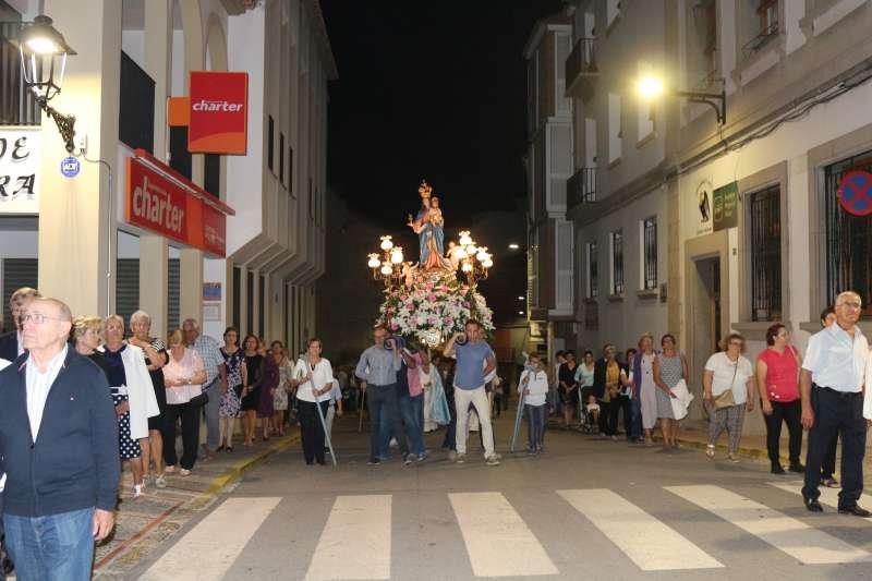 La Virgen de Gracia en procesión