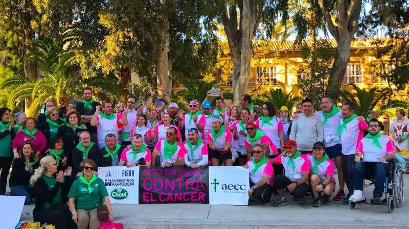 Reto solidario de 2018 con final en Sagunt