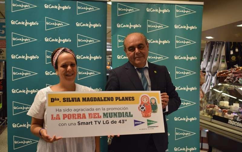 Silvia Magdaleno, ganadora de La porra del Mundial. EPDA