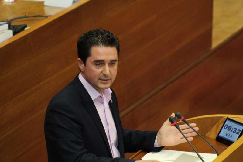 El diputat de Compromís Paco Garcia Latorre