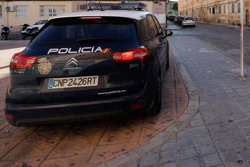 Coche de policía. EFE/Archivo